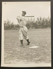 Load image into Gallery viewer, 1930s MLB Vintage Lou Gehrig New York Yankees Baseball Photo LOA