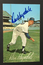 Load image into Gallery viewer, Don Drysdale Autographed Baseball Photo Postcard Los Angeles Dodgers JSA