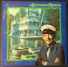 Load image into Gallery viewer, 1975 Bing Crosby Autographed A Southern Memoir LP Record JSA Authentic Signed