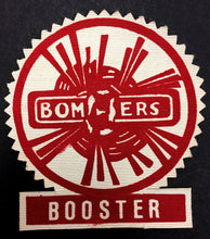 Load image into Gallery viewer, Vintage 1960's Flin Flon Bombers SJHL Hockey Booster Patch Crest NOS Unused