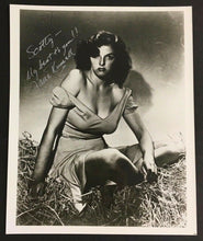 Load image into Gallery viewer, Jane Russell Celebrity Autographed Photo Signed Super Star Hollywood Picture