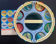JELL-O Collectors Picture Wheel Coins Complete Set Aircraft Planes Original Box