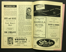 Load image into Gallery viewer, 1949 Maple Leaf Gardens Wrestling Program Whipper Billy Watson Cover Photo