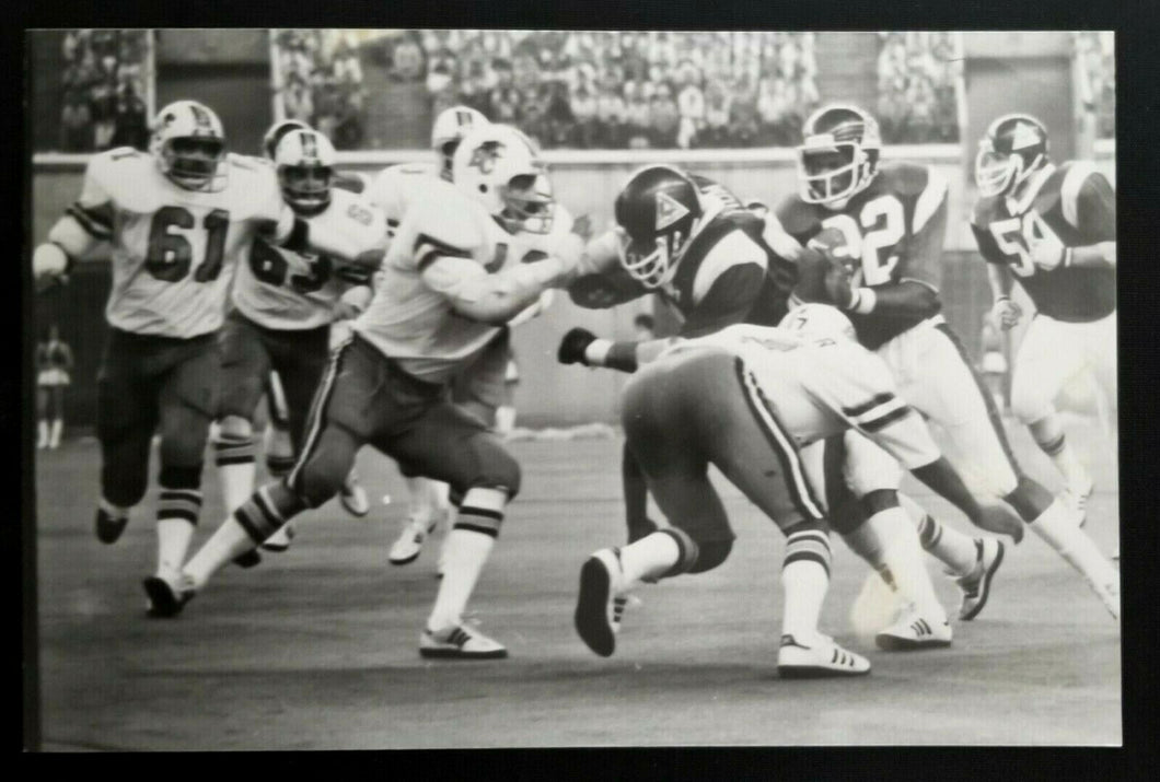 1981 Denis Brodeur CFL Football Press Photo Montreal Alouettes BC Lions