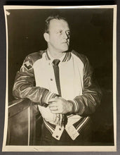 Load image into Gallery viewer, 1950 Lynn Patrick Boston Bruins Head Coach Vintage 1 Photo NHL Hall Of Famer