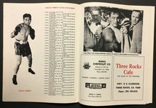 Load image into Gallery viewer, 1984 Boxing Champion Young Corbett III Souvenir Program Boxer Magazine