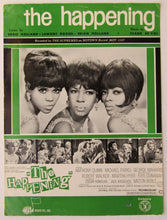 Load image into Gallery viewer, 1967 The Supremes The Happening Sheet Music Rare PVG Motown Record Diana Ross