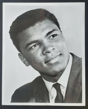 Load image into Gallery viewer, 1960s Muhammad Ali Original Photo 8 x 10 Vintage Boxing Sports Cassius Clay