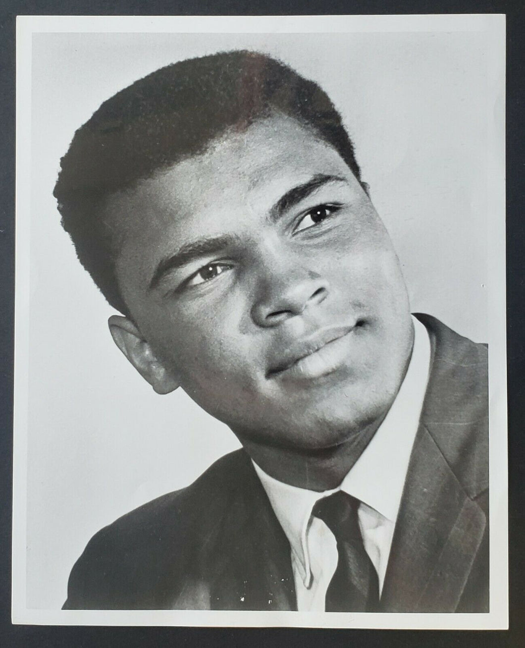 1960s Muhammad Ali Original Photo 8 x 10 Vintage Boxing Sports Cassius Clay