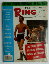 Load image into Gallery viewer, 1977 The Ring Boxing Magazine World Junior Welter Champion Wilfredo Benitez