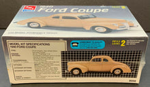 Load image into Gallery viewer, AMT 1940 Ford Coupe Scale 1:25 Model Kit Vintage Car Factory Sealed