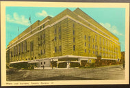 1940's Maple Leaf Gardens Home Of The Toronto Maple Leafs NHL Hockey Postcard