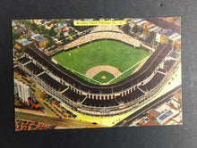 Load image into Gallery viewer, 1940 Vintage Wrigley Field MLB Baseball Postcard Chicago Illinois