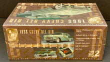 Load image into Gallery viewer, AMT Ertl 1:25 Scale 1955 Chevrolet Bel Air Model Kit '55 Chevy Sealed Original