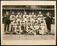 1908 Olympics Canadian Gold Medal Winning Lacrosse Team Photo Tommy Gorman Vtg