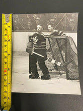 Load image into Gallery viewer, 1935 Vintage NHL Type 1 Photo Toronto Maple Leafs Hockey HOF George Hainsworth