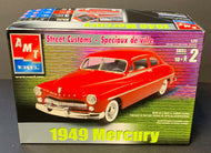 AMT ERTL 1949 Mercury Scale 1:25 Model Car Kit Vintage