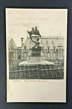 Load image into Gallery viewer, Vintage Canadian Postcard Quebec Short Wallick Monument Montreal Quebec RPPC