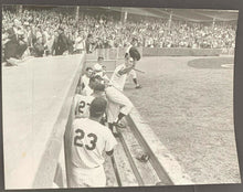 Load image into Gallery viewer, 1961 Roger Maris Curtain Call After Blasting 61st Home Run Important Photo