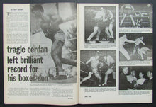 Load image into Gallery viewer, 1966 The Ring Boxing Magazine Cassius Clay Muhammad Ali Doug Jones Marcel Cerdan