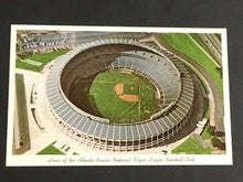 Load image into Gallery viewer, 1965 Home of the Atlanta Braves National major league baseball club post card