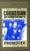 Load image into Gallery viewer, Corrosion Of Conformity Laminated Backstage Promoters Pass Heavy Metal Band