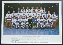 Load image into Gallery viewer, 1970s WHA Cleveland Crusaders Team Issued Photo 5x7 Gerry Cheevers Vintage
