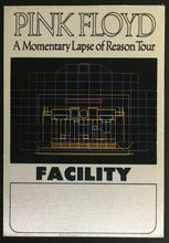 Load image into Gallery viewer, 1987 Pink Floyd A Momentary Laps Of Reason Concert Tour Satin Decal Sticker