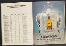Load image into Gallery viewer, 1979 Olympic Stadium Grey Cup Program Montreal vs Edmonton + Ticket Stub CFL