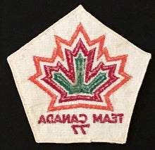 Load image into Gallery viewer, Rare 1977 Team Canada Hockey Crest Vintage Patch