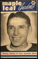 1952 NHL Hockey Vintage Program Toronto Maple Leafs vs Montreal Canadiens MLG