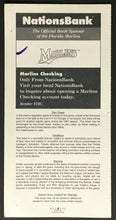 Load image into Gallery viewer, 1997 Pro Player Stadium Florida Marlins v Cubs Opening Day Ticket 5th Season MLB