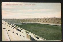 Load image into Gallery viewer, 1900s Soldiers Field Vintage Football Stadium Postcard Boston Massachusetts