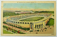 Load image into Gallery viewer, Circa 1940 Buffalo Civic Stadium Postcard Bills AFL New York Football Unposted