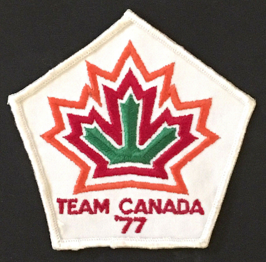 Rare 1977 Team Canada Hockey Crest Vintage Patch