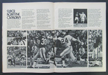 Load image into Gallery viewer, 1972 Empire Stadium CFL Football Program Toronto Argonauts vs BC Lions Vintage