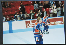 Load image into Gallery viewer, 1980-1981 Montreal Forum Vintage NHL Edmonton Oilers Wayne Gretzky Type 1 Photo