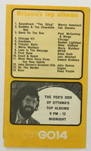 Load image into Gallery viewer, 1974 CFGO14 Radio Survey Chart Ottawa Ontario Top 30 Ray Stevens Grand Funk