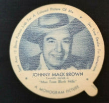 Load image into Gallery viewer, 1950s Vintage Nelsons Ice Cream Dixie Cup Lids 3 Different Actors