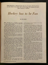 Load image into Gallery viewer, 1971 NHL Hockey Forum Program Los Angeles Kings v Boston Bruins Historical Game