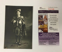 Load image into Gallery viewer, 1900 Signed Harry Lauder Postcard Scottish Entertainer Million Records Sold JSA
