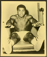 Load image into Gallery viewer, 1960's Muhammad Ali Original Photo 8 x 10 Vintage Boxing Sports Picture