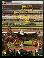 1974 Horse Racing Queens Plate Program with Reporter Notes + Pass + Credentials