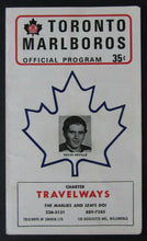 Load image into Gallery viewer, 1971 Maple Leaf Gardens OHA Major Jr A Program Toronto vs Hamilton Red Wings