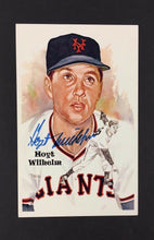Load image into Gallery viewer, Hoyt Wilhelm Autographed Limited Edition Perez Steele Postcard Baseball Card
