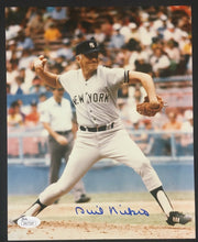 Load image into Gallery viewer, Phil Niekro Signed Photograph Picture New York Yankee Baseball JSA Autographed
