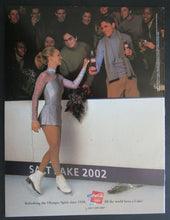 Load image into Gallery viewer, 2002 Salt Lake City Winter Olympics Day 14 Program Womens Gold Medal Hockey Game