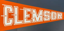 Load image into Gallery viewer, Clemson Tigers **RARE** Vintage Pennant NCAA College Football Bowl Champs