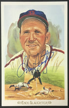 Load image into Gallery viewer, Enos Slaughter Autographed Signed Perez-Steele Post Card MLB Baseball HOFER