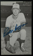 Load image into Gallery viewer, 1980 Balor Moore Autographed J D McCarthy Photo MLB Toronto Blue Jays